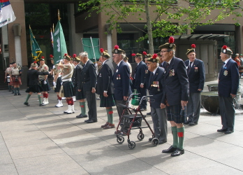 30 Battalions' Church Parade 2015