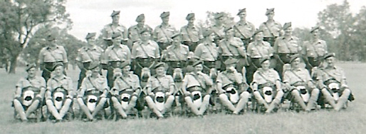 30 Bn Officers 1950