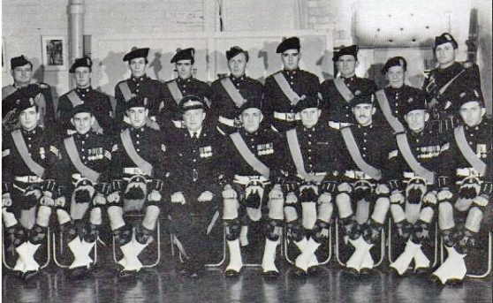 WOs & Sgts 1961