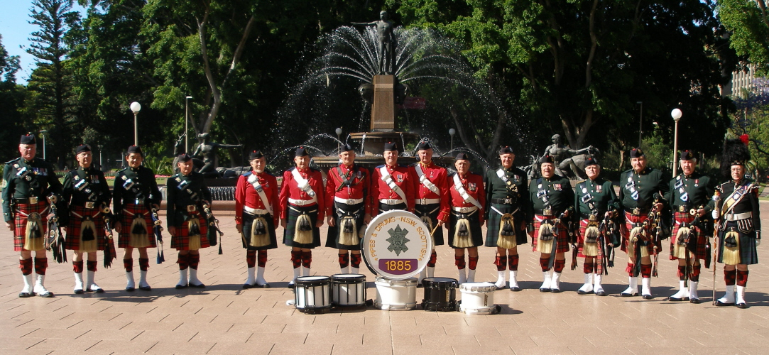 NSW Association Pipes and Drums